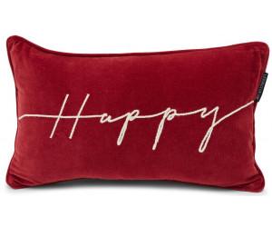 Lexington Dekokissenbezug Happy Cotton Velvet rot