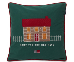Lexington Dekokissenbezug Home for the Holidays BIO-Baumwolle