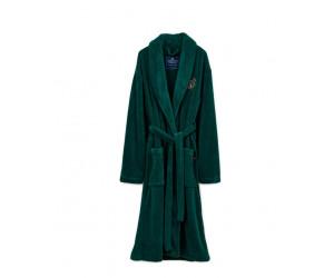 Lexington Bademantel Lesley Fleece grün