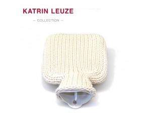 Katrin Leuze Juniorwärmflasche Merino-Seide ecru