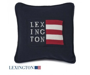 Lexington Dekokissen No 1 Sham Logo navy