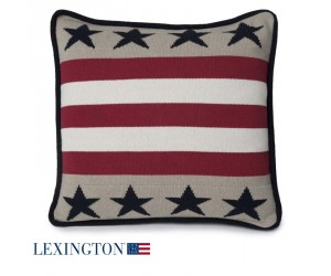 Lexington Dekokissen No 1 Sham Stars & Stripes beige