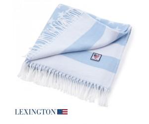 Lexington Plaid Baby Flag blau
