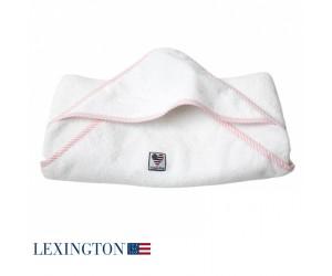 Lexington Kapuzenhandtuch American Baby rosa