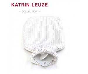 Katrin Leuze Wärmflasche Merino-Seide weiß