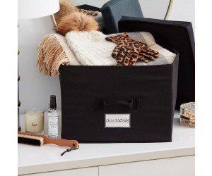 The Laundress Aufbewahrungsbox Medium schwarz (38x19x27cm)