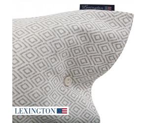 Lexington Bettwäsche Printed Sateen grau