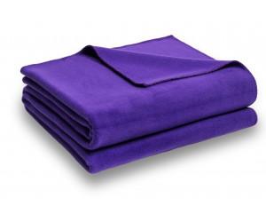 Zoeppritz Decke Soft-Fleece lila -491 (2 Größen)