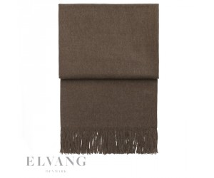 Elvang Plaid Luxury mocca