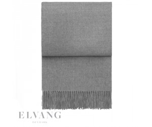 Elvang Plaid Luxury light grey