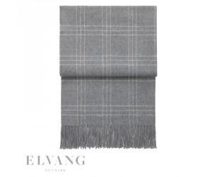 Elvang Plaid Superior grey/white