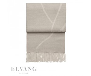 Elvang Plaid Wildflower beige/white
