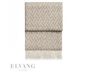 Elvang Plaid Amazing beige/white