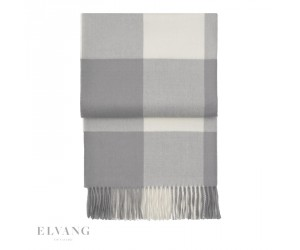 Elvang Plaid Whisper flint grey/ cream