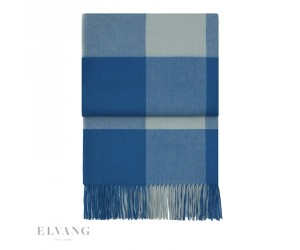 Elvang Plaid Whisper pacific/ lagoon