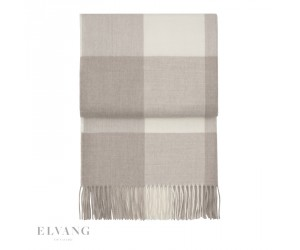 Elvang Plaid Whisper beige/ white
