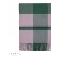 Elvang Plaid Whisper emerald/ dahlia