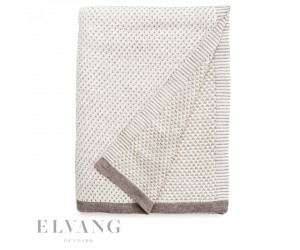 Elvang Plaid Raindrops ivory