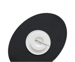 Chilewich Tischset OnEdge schwarz -002