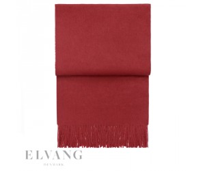 Elvang Plaid Classic pompeian red