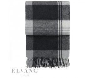 Elvang Plaid Cityscape dark grey