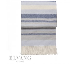 Elvang Plaid Cascade atlantic/delph/flint grey