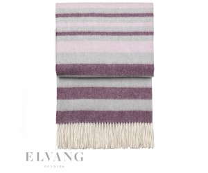 Elvang Plaid Cascade passion/dahlia/swing pink