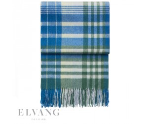 Elvang Plaid Star pacific/emerald/ivory