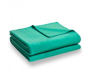 Zoeppritz Decke Soft-Fleece mintgrün -750 (2 Größen)