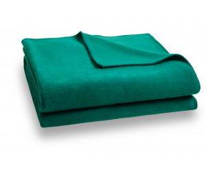 Zoeppritz Decke Soft-Fleece smaragdgrün -775 (2 Größen)