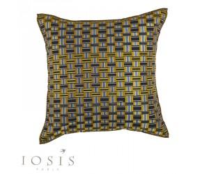 Iosis Dekokissen Croisette citron (56 x 56 cm)