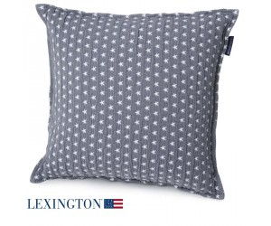 Lexington Dekokissen Star mittelgrau