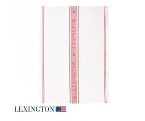 Lexington Küchentuch Living Star weiß / rot