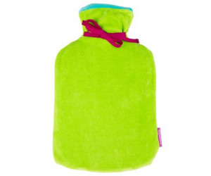 Farbenfreunde Wärmflasche Twins seegrün/ miami blue (258/259)
