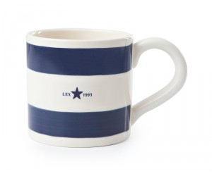 Lexington Tasse Star blau