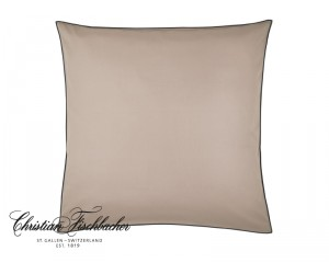 Christian Fischbacher Bettwäsche Satin Selection Color braunbeige