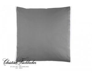 Christian Fischbacher Bettwäsche Satin Deluxe silber (grau)
