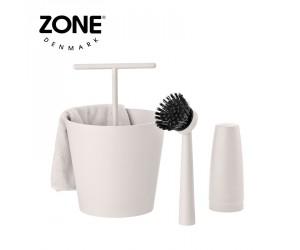 Zone Geschirrspühlset Bucket warm grey