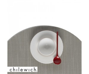 Chilewich Set Rund Mini Basketweave aloe