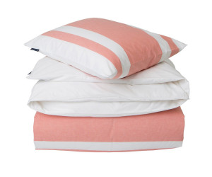 Lexington Bettwäsche Apricot Horizontal Striped Poplin Bedding