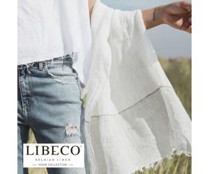 Libeco Leinentuch Arinella ashstripe