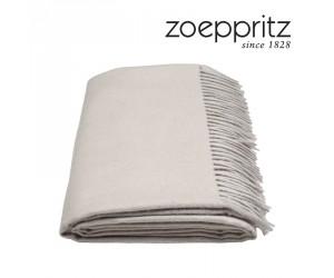Zoeppritz Plaid Attitude grau -090 (130 x 200 cm)