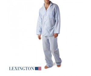 Lexington American Authentic Unisex Pyjama hellblau