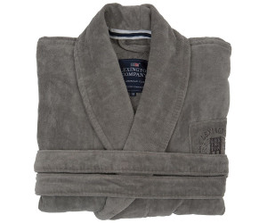 Lexington Bademantel Hotel Velour Robe grau