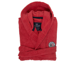 Lexington Bademantel Hood Terry Robe rot (XS-XL)
