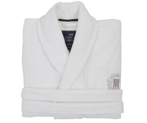 Lexington Bademantel Hotel Velour Robe weiß