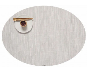 Chilewich - 4-er Set BAMBOO oval 36 x 49,5 cm - Coconut