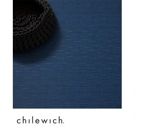 Chilewich Teppich Bamboo lapis