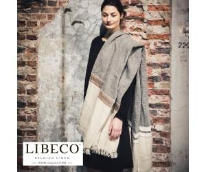 Libeco Leinentuch Belgian beewax stripe
