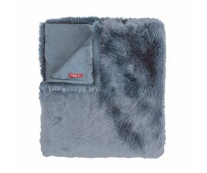 Iosis Plaid BELUGA blaugrau (150 x 170 cm)
